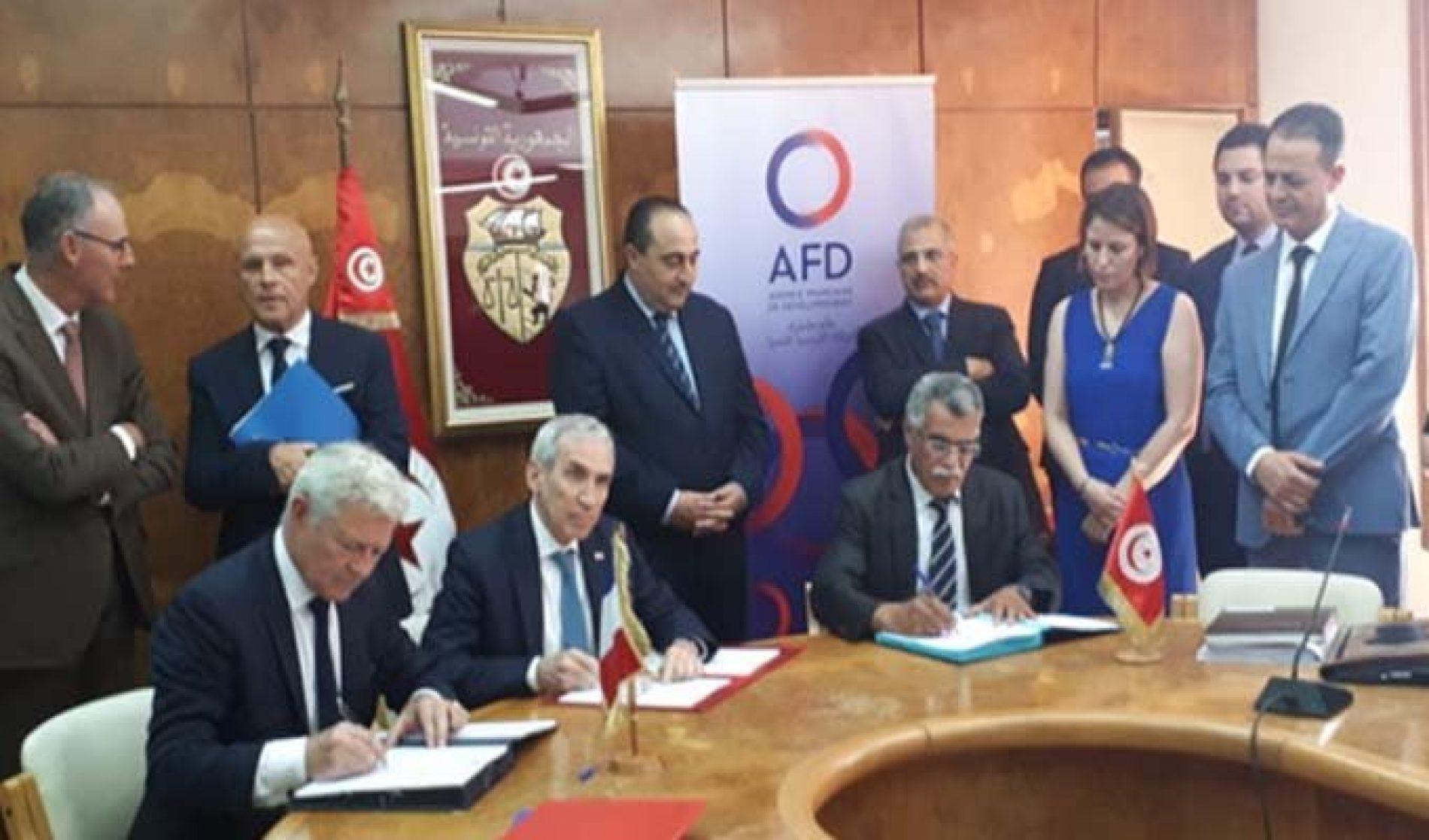 Mobilité urbaine: Signature de trois partenariats franco-tunisiens de financement
