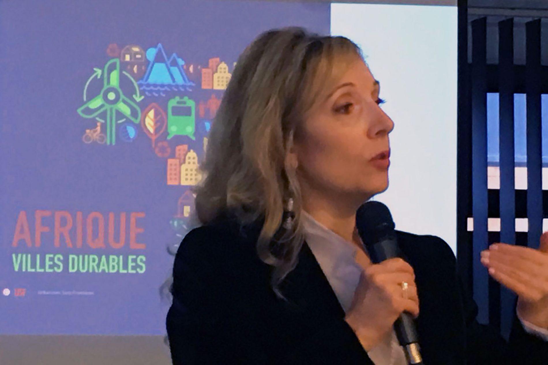 """Maggie Cazal: """"les deux difficultés majeures auxquelles font face les villes africaines sont la gouvernance et la financiarisation de la ville durable"""""""