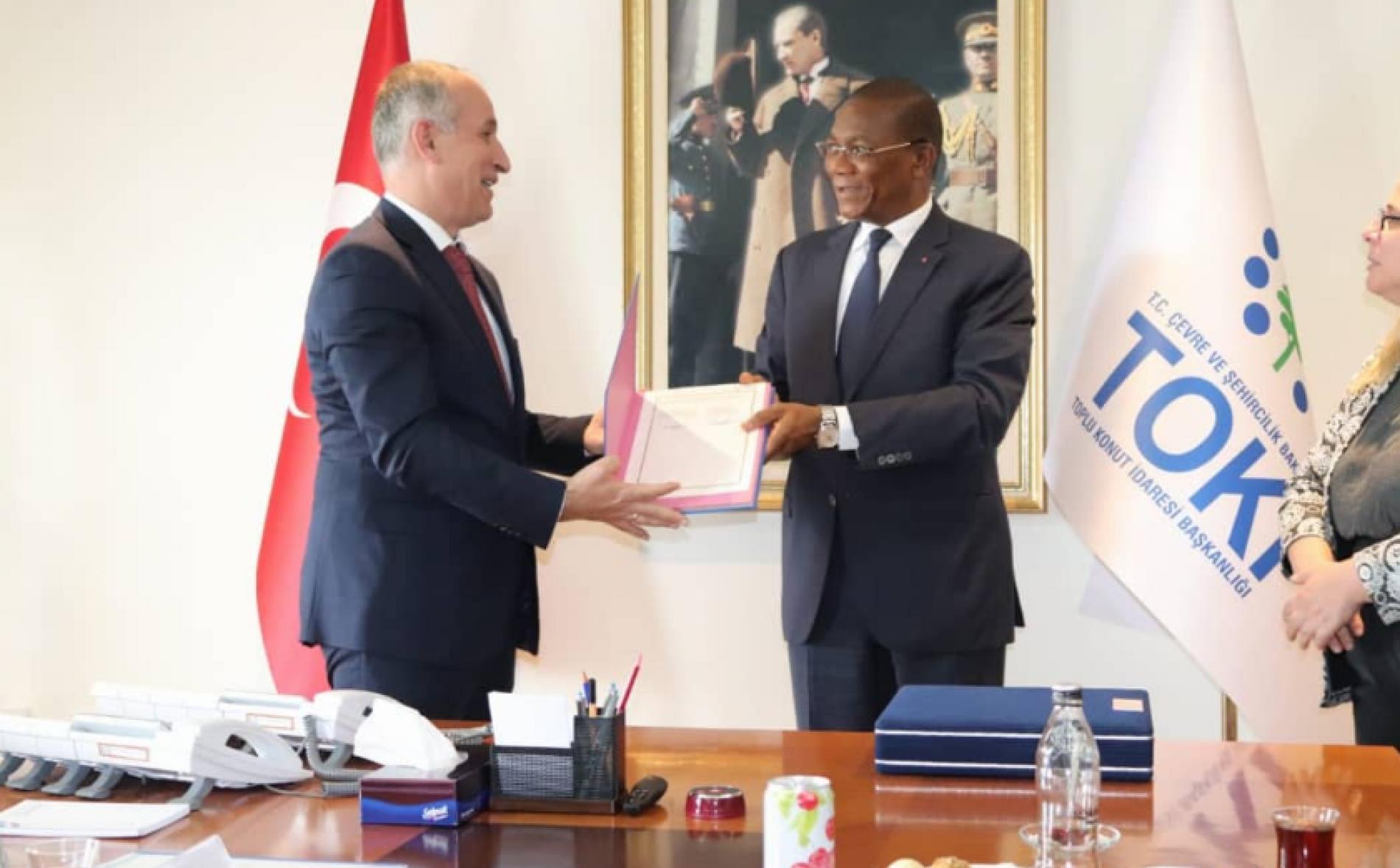 Urbanisme : La Cote-D'Ivoire et la Turquie valident des accords de coopération