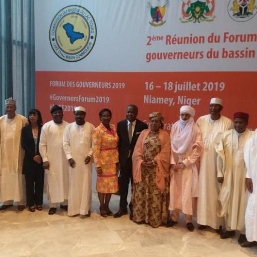 Developpement durable : Les Gouverneurs réfléchissent à l'avenir du Lac Tchad