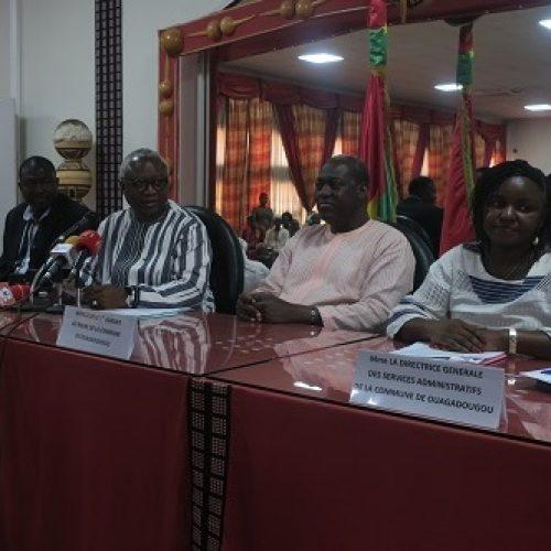 Développement local : Le maire et les associations de Ouagadougou accordent leurs violons