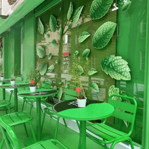 France – Climat : Une rue repeinte à Paris pour faire baisser sa température