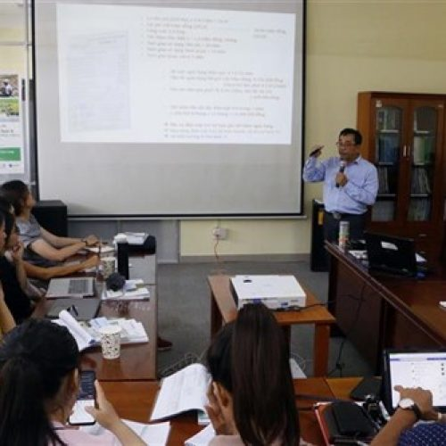 Vietnam – Changement climatique : Les Journalistes améliorent leurs connaissances