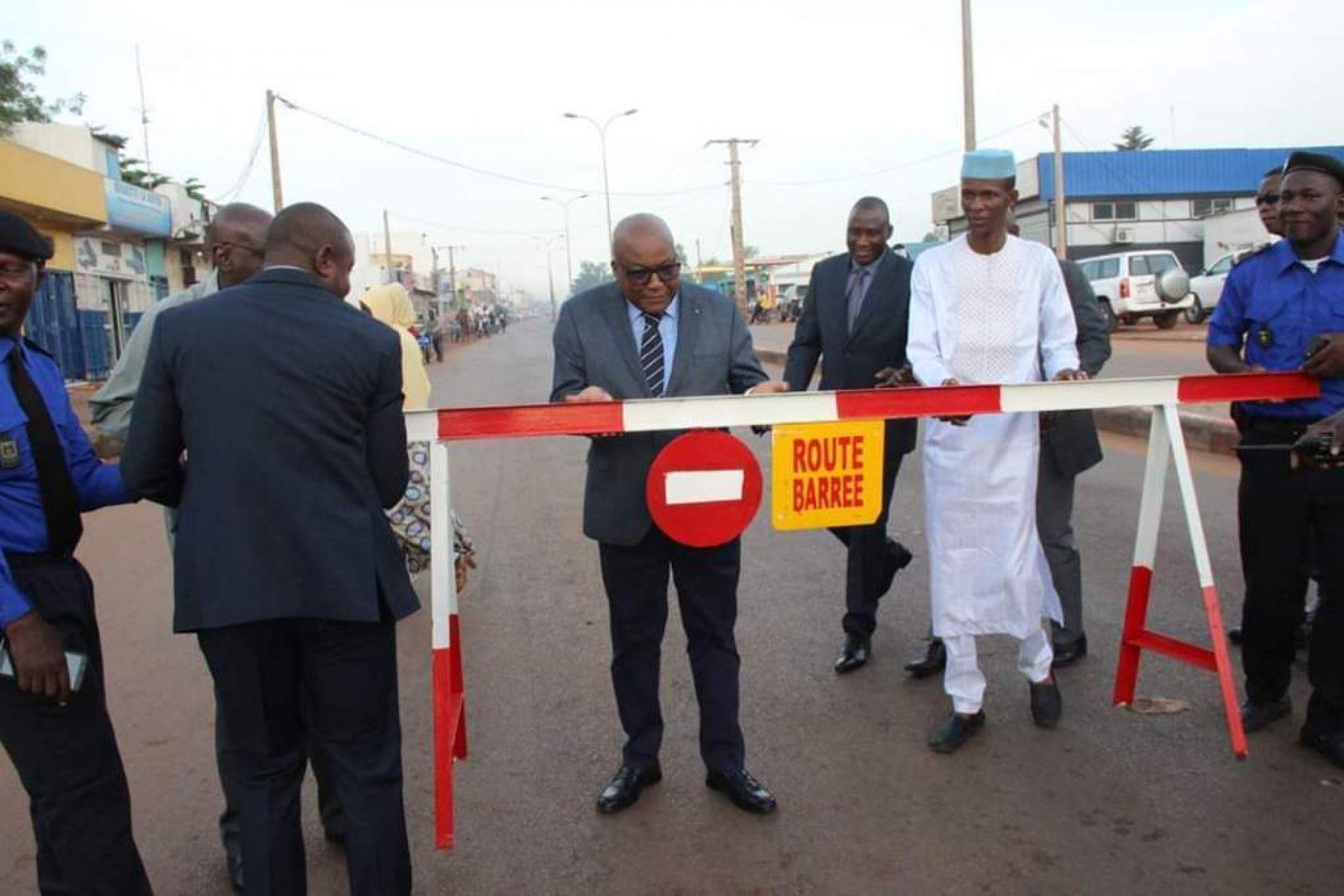 Mobilité urbaine : Opération Circulation Alternée à Bamako