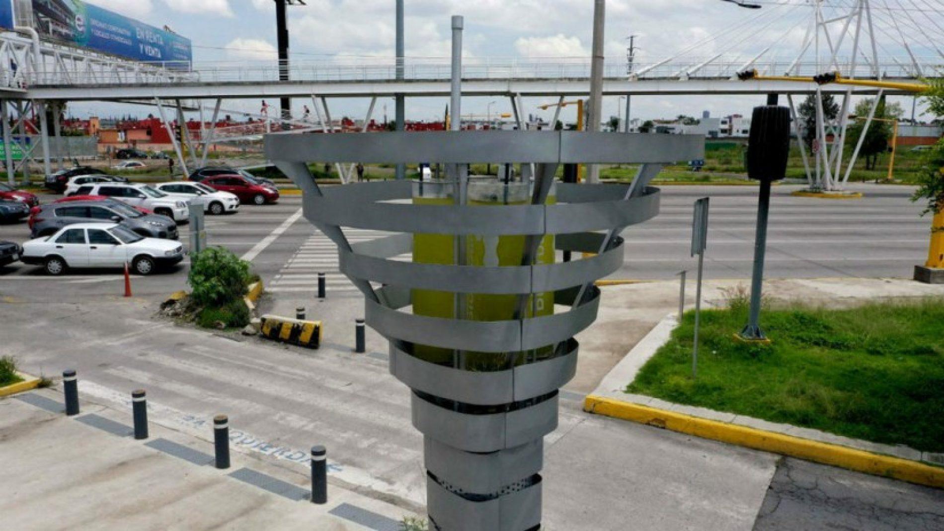 Mexique – Environnement : Un arbre artificiel pour purifier l'air !