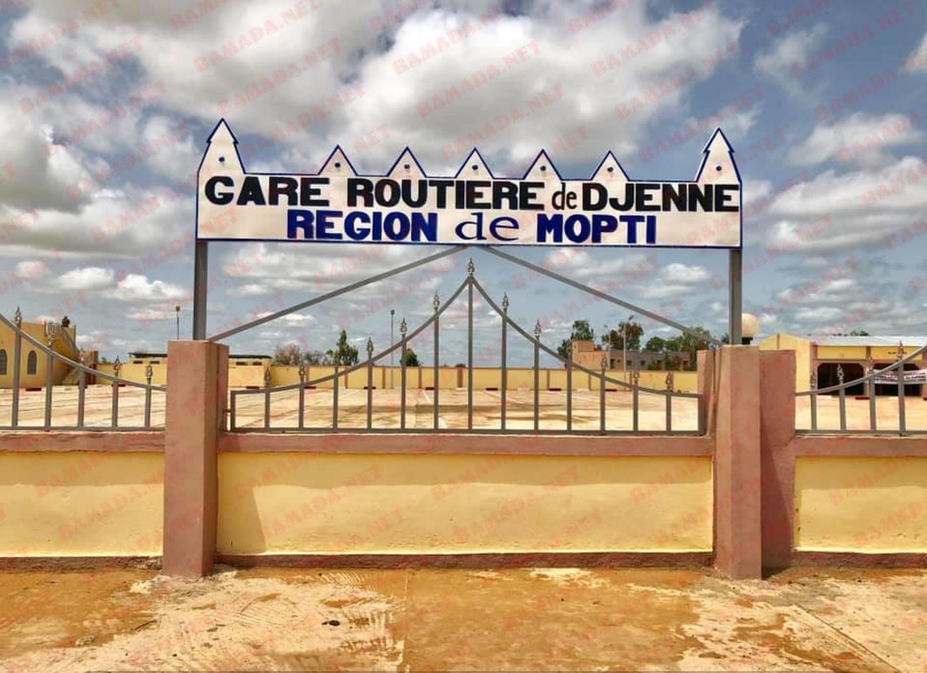 Mali – Transports : L'auto gare de Djénné inaugurée