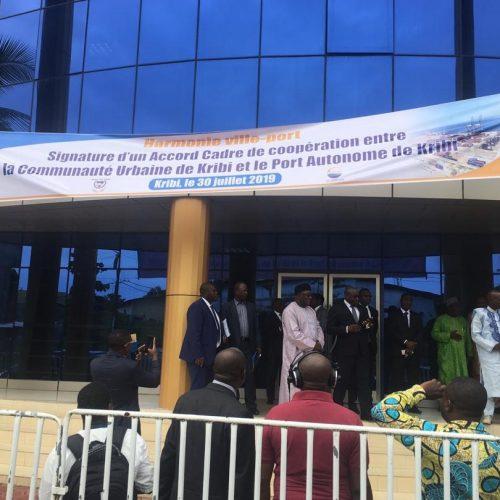 Kribi : Signature d'un accord-cadre entre la Communauté urbaine et le PAK