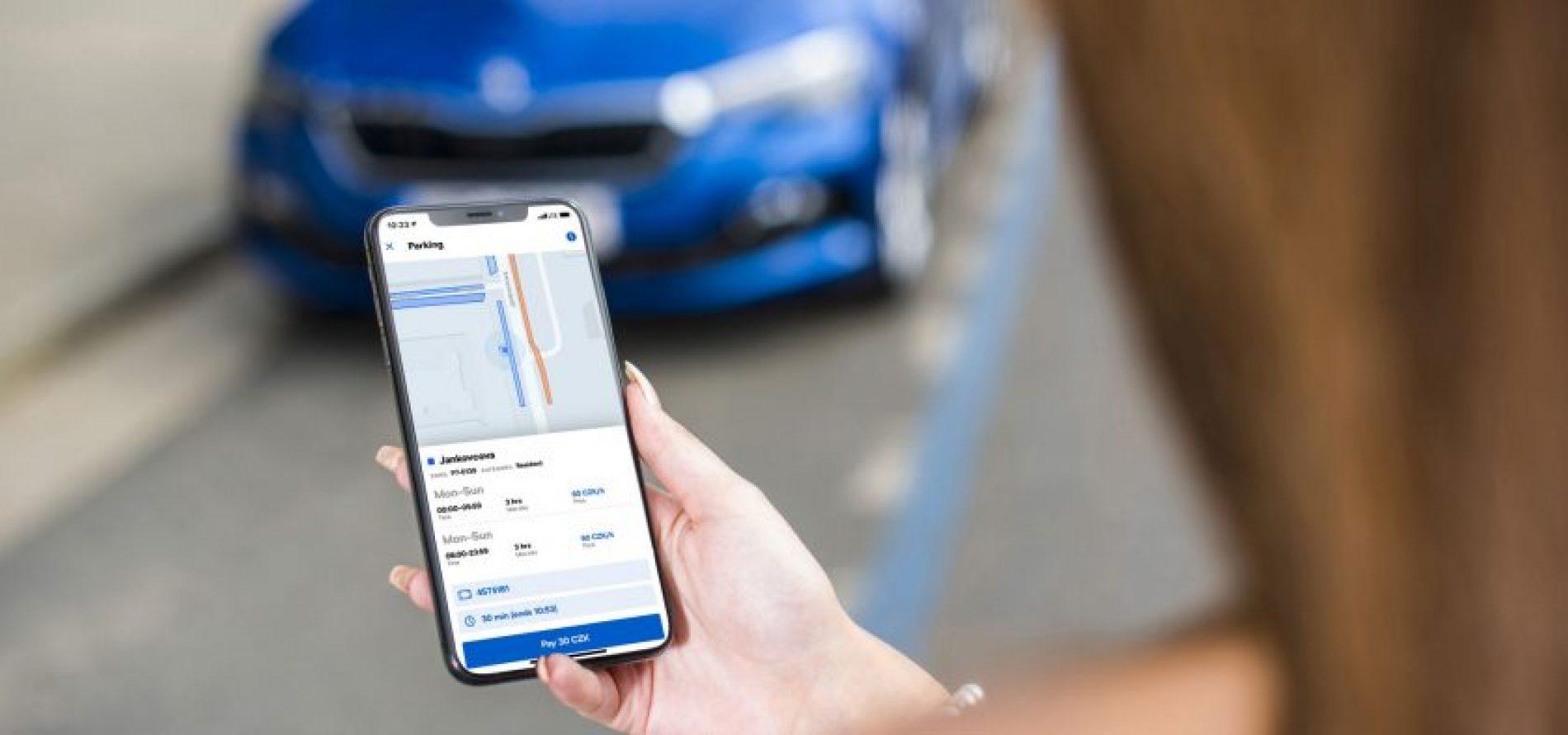 "Mobilité urbaine : Skoda lance son application ""Citymove"""