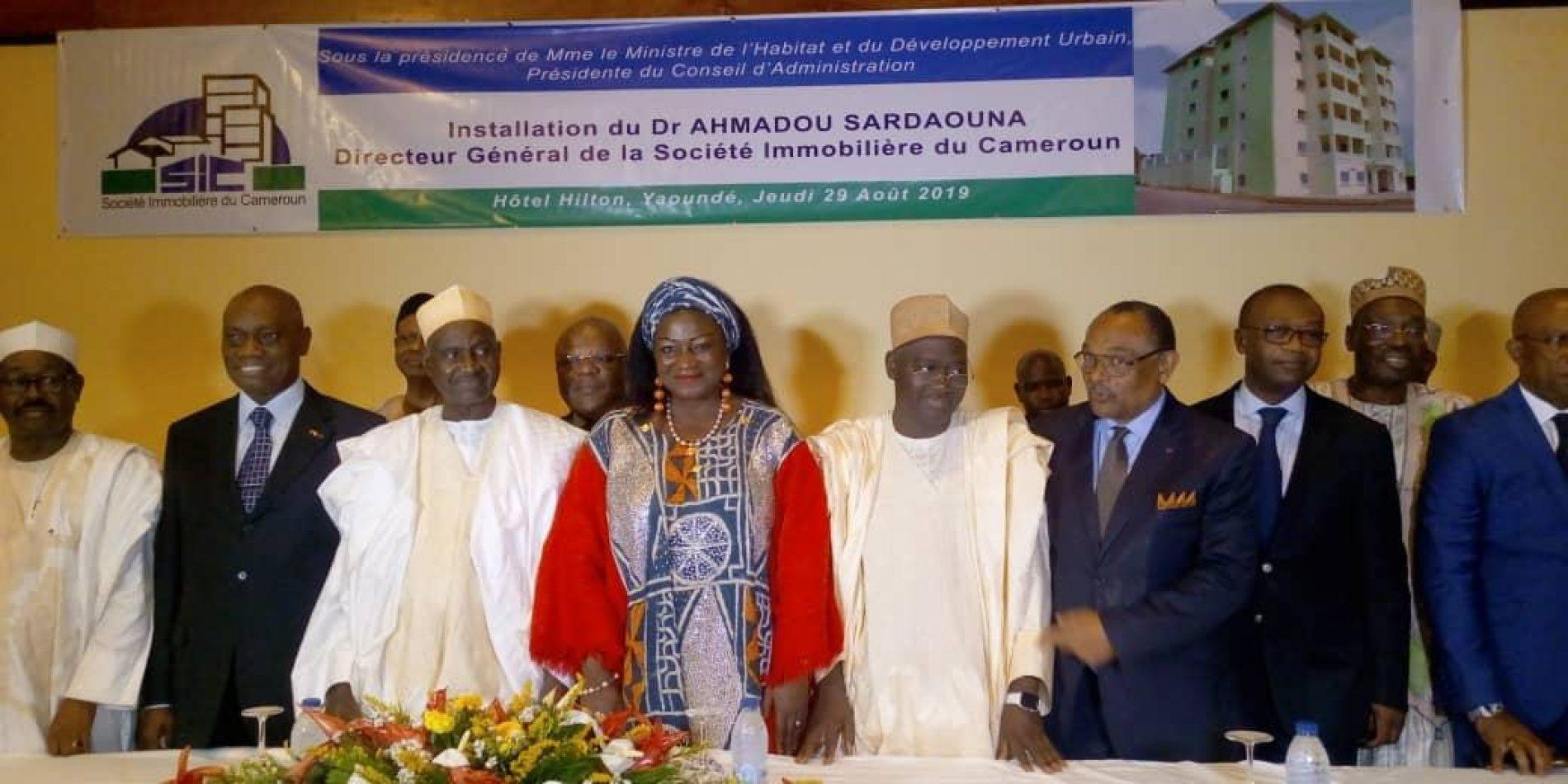 Société Immobilière du Cameroun : Dr Ahmadou Sardaouna en fonction