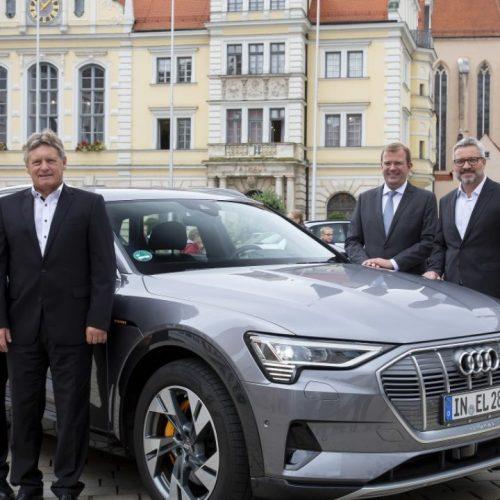 Mobilité urbaine : Audi, la ville d'Ingolstadt et DeutscheTelekom coopèrent sur la technologie 5G