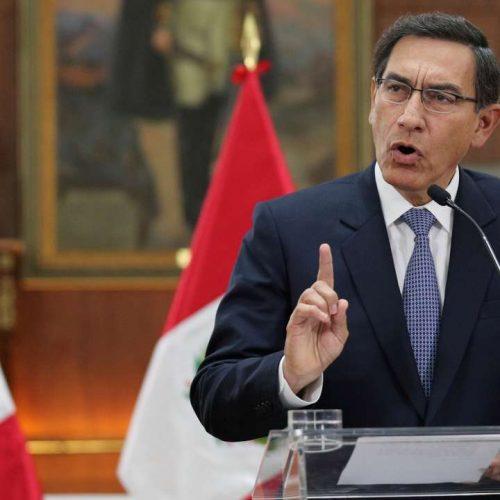 Pérou – élections anticipées: Le président Martín Vizcarra dissout le parlement !