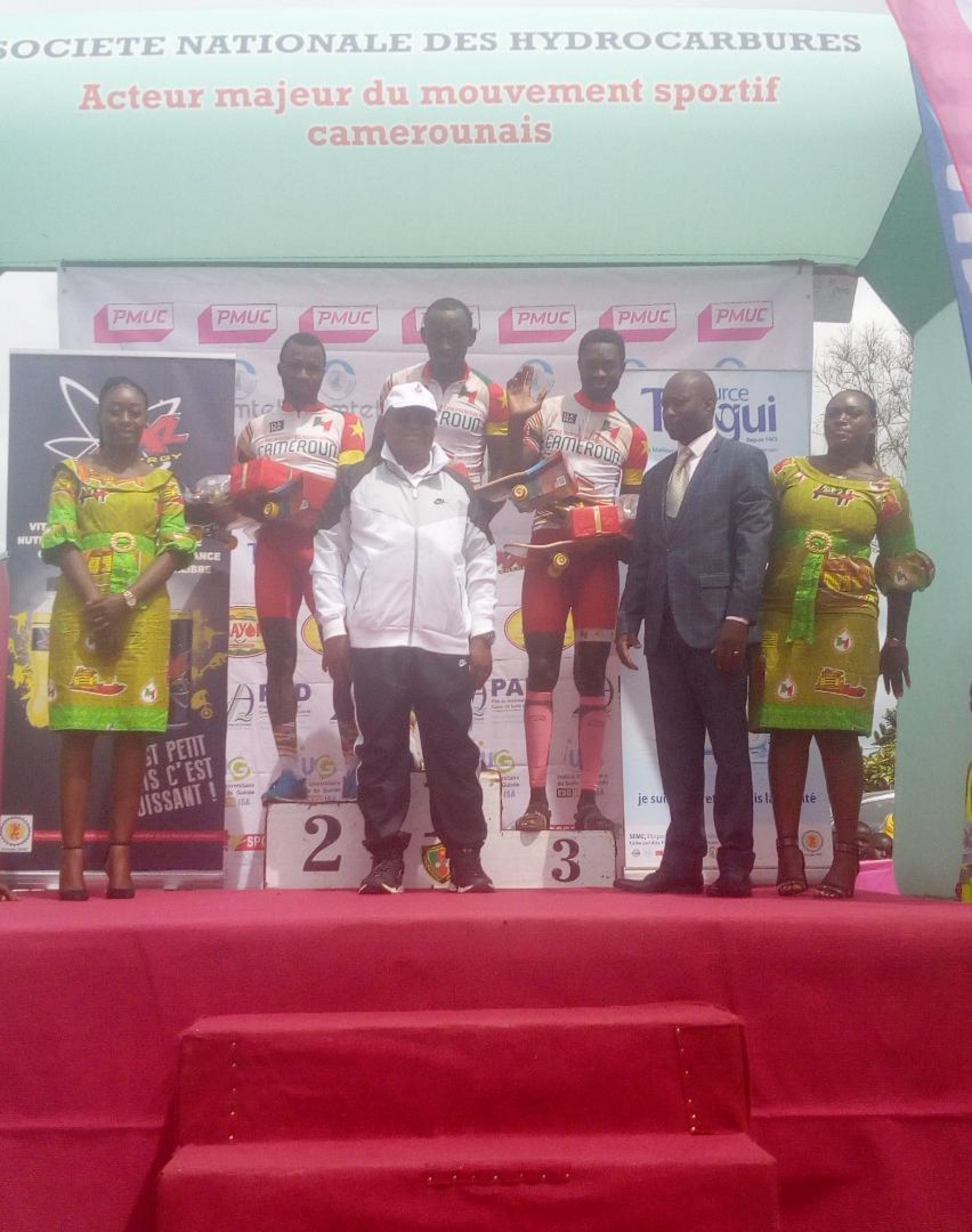 Grand Prix Cycliste International Chantal Biya : L'Algérie sur le trône de la première étape