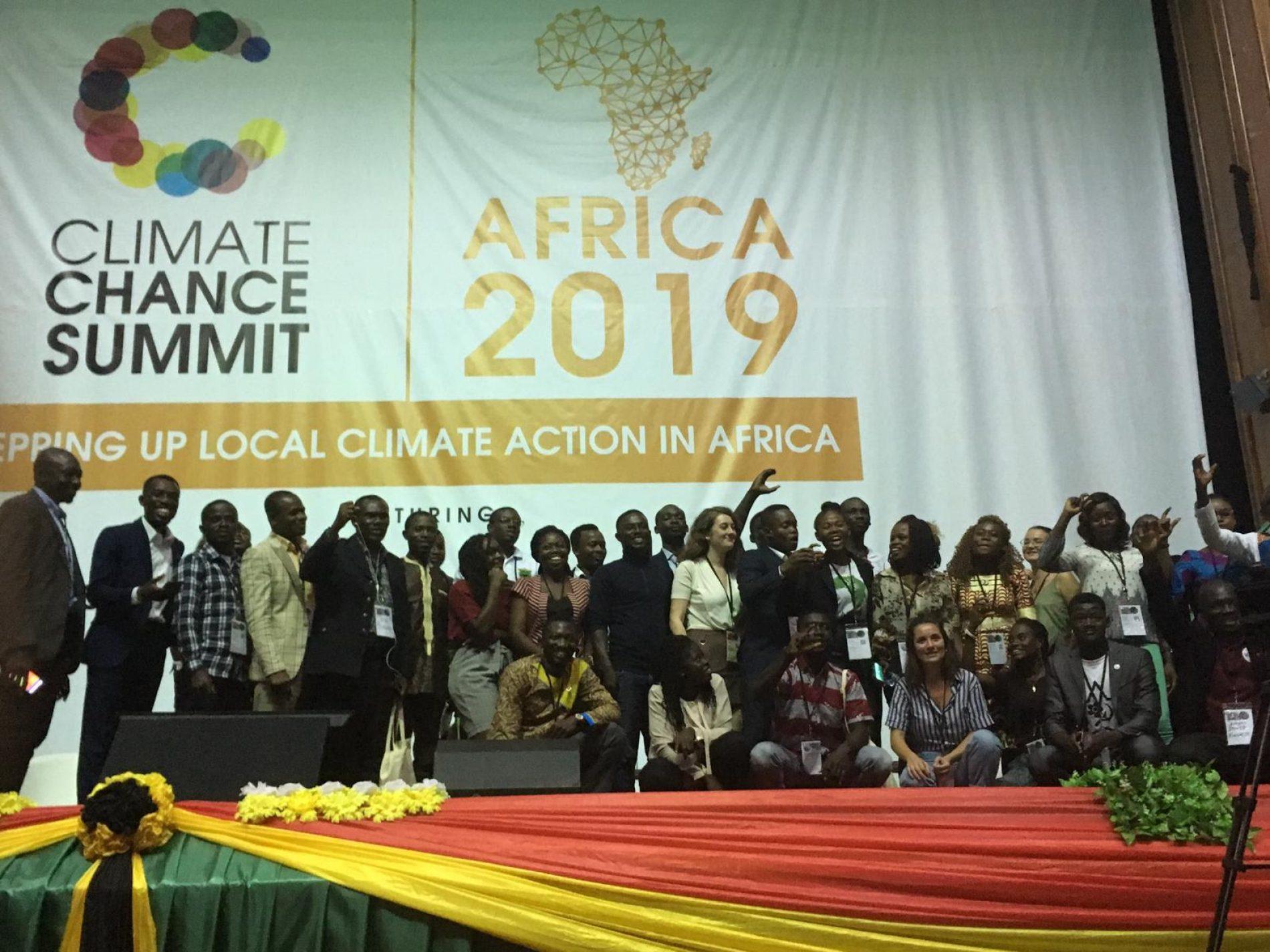 Sommet Climate Chance : les acteurs locaux se mobilisent contre le réchauffement climatique