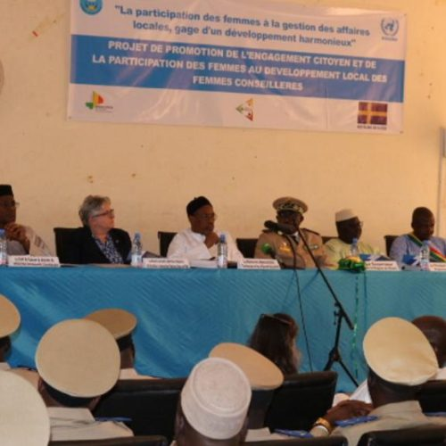 Mali : la MINUSMA renforce les capacités techniques des femmes élues