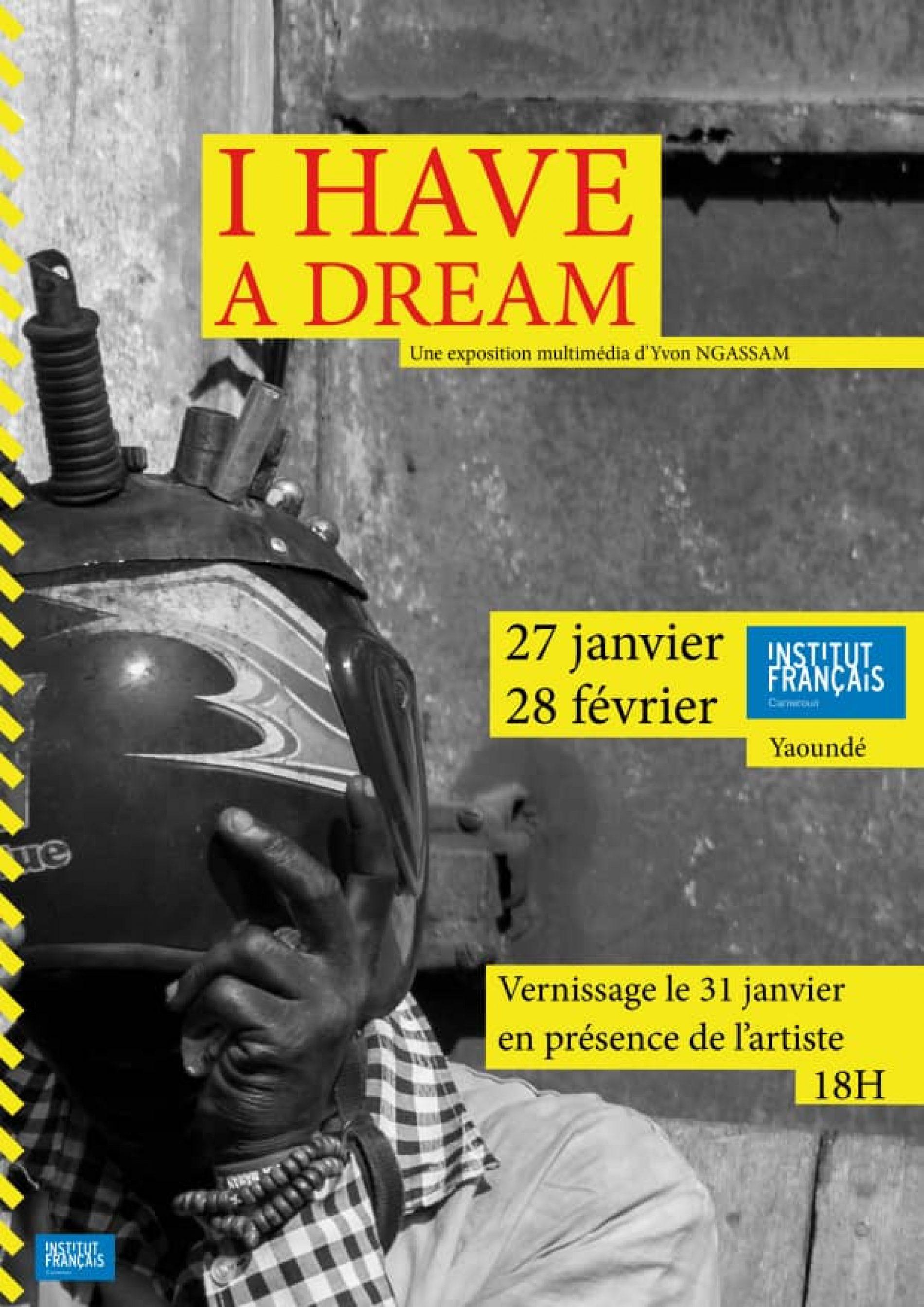 """Yvon Ngassam partage son """"dream"""" à l'Institut français de Yaoundé"""