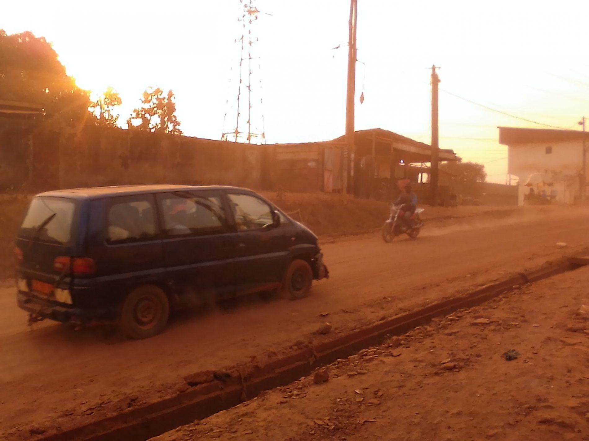 Oyomabang, un cauchemar en nappes de poussière