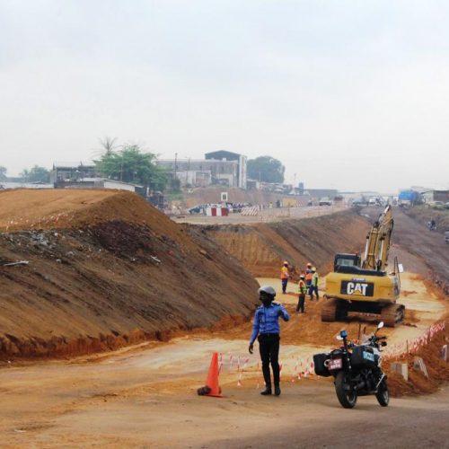 Douala : Les voies alternatives achevées à l'Entrée Est