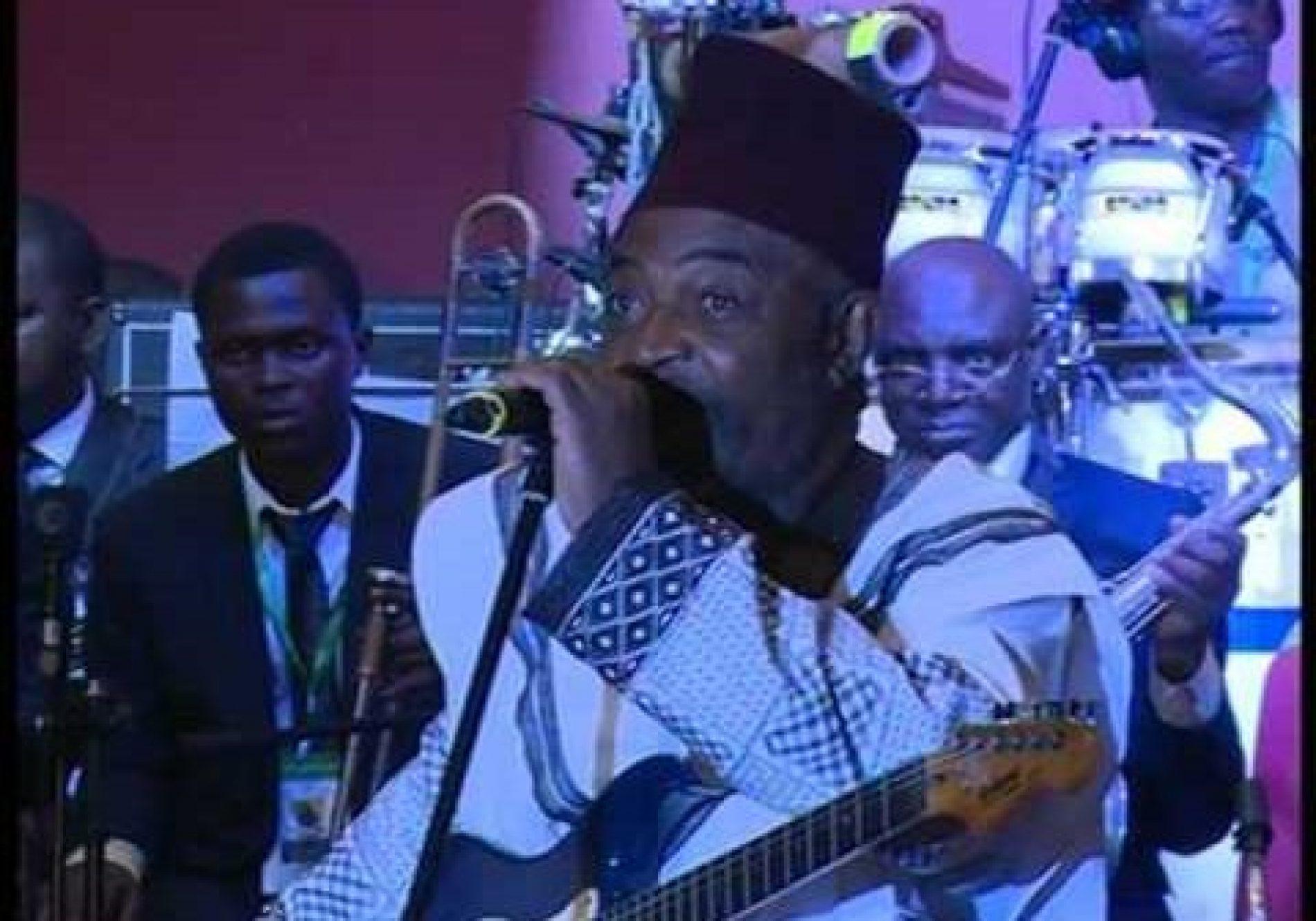 Musique: L'artiste Claude NDAM a joué ses dernières notes