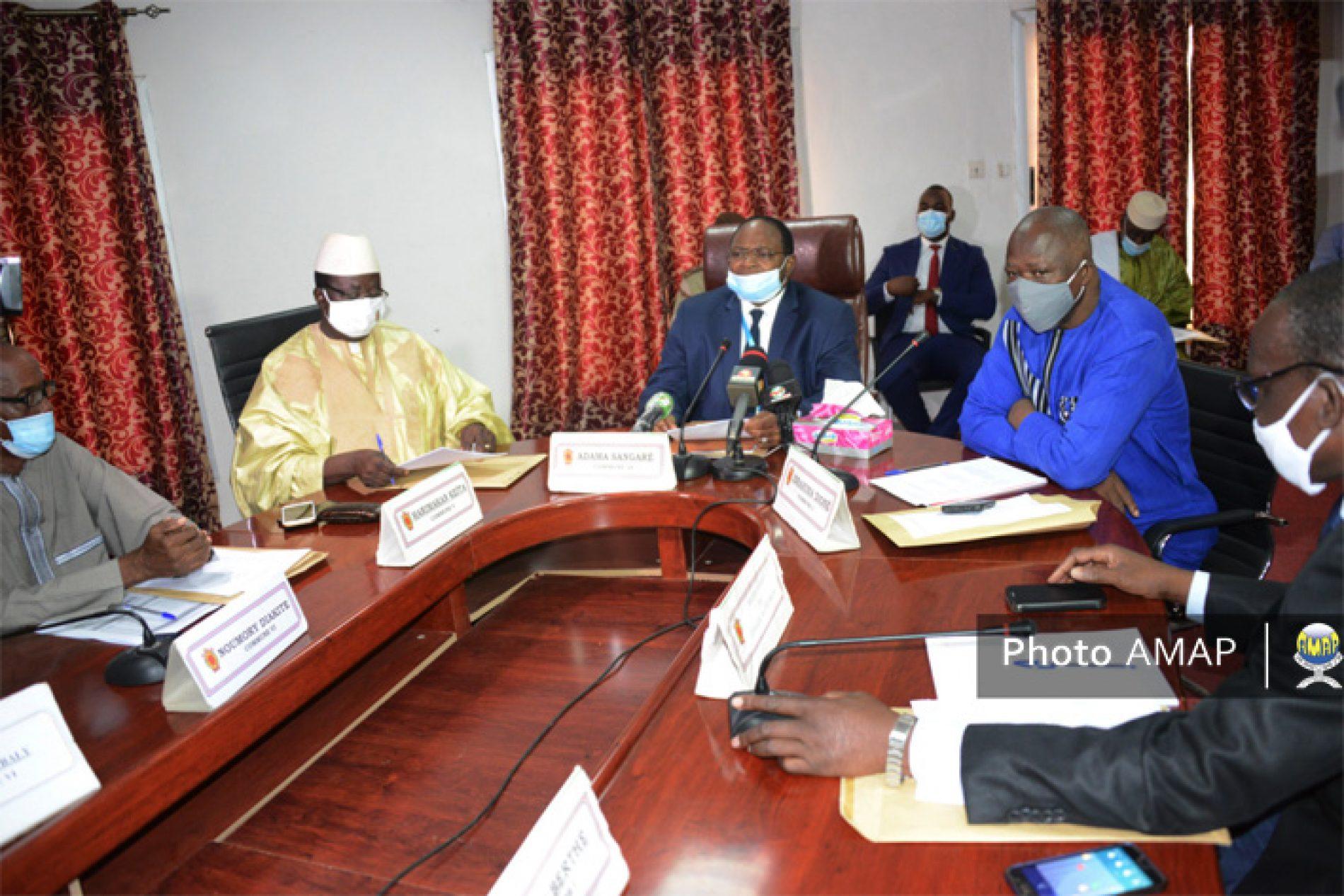 Bamako: Les prévisions budgétaires ajustées face au Covid19 à la Mairie du District
