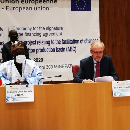 Cameroun-Union Européenne: 10 milliards de FCFA pour soutenir les bassins cotonniers