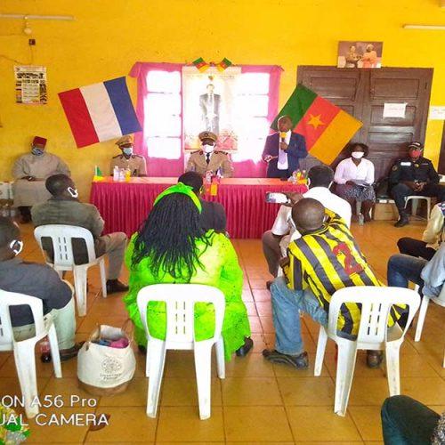 Commune de Bangangté: L'AIMF & Veolia se joignent à la lutte contre la Covid19