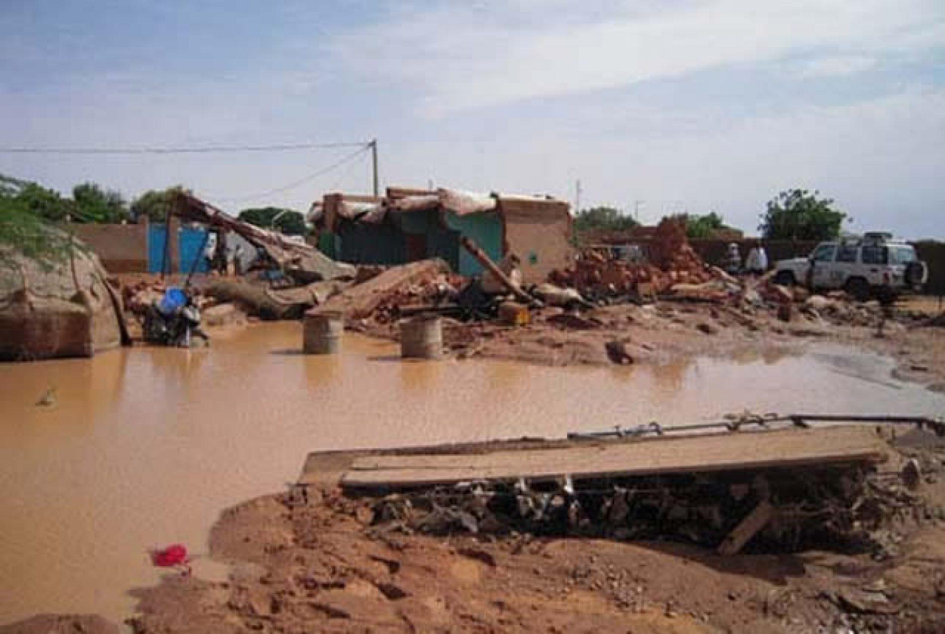 Inondations à Kousseri: Les Sapeurs Pompiers viennent en aide à 10 000 personnes
